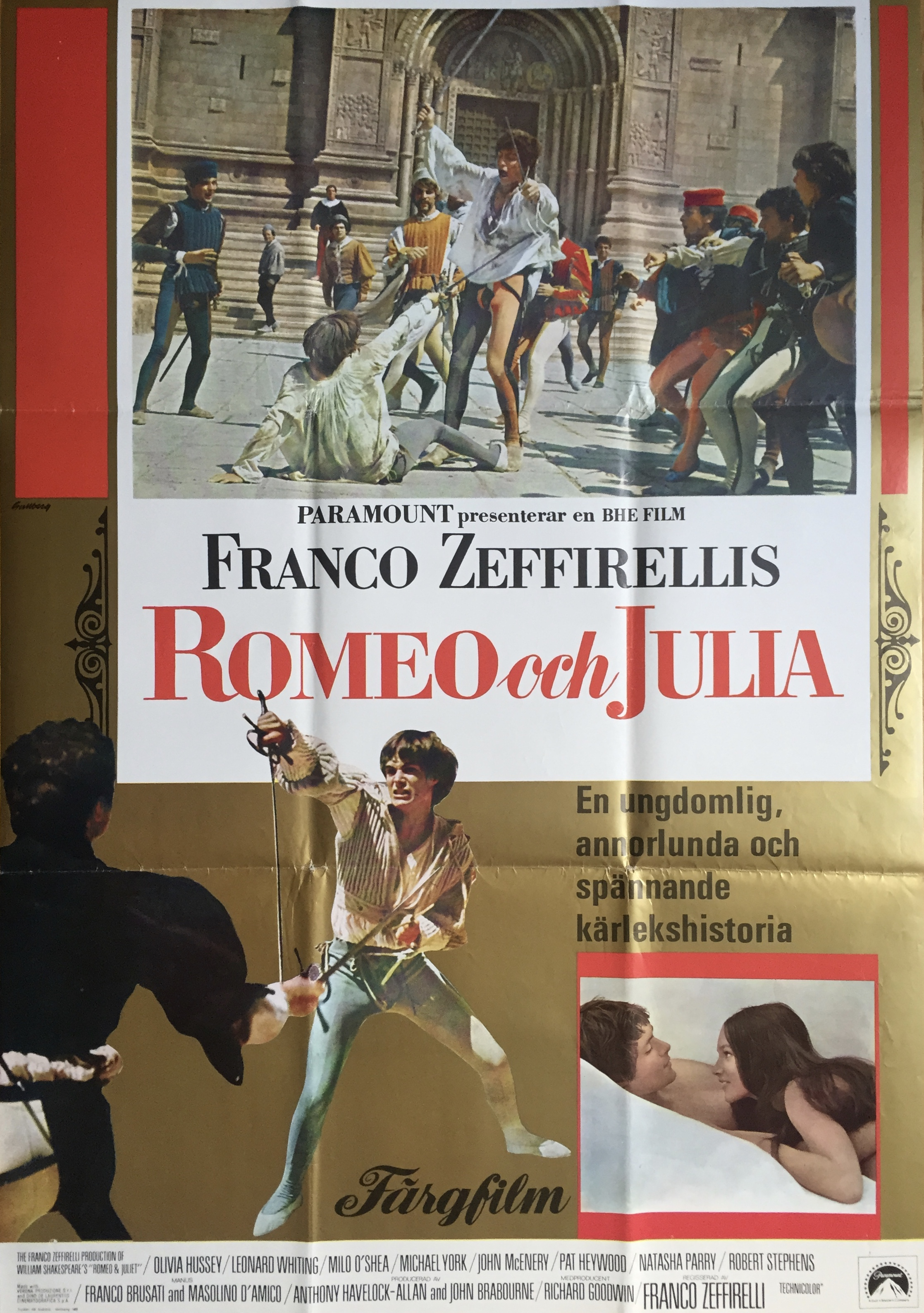 Nostalgipalatset Romeo Amp Julia 1969