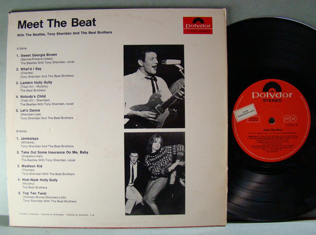 Tony Sheridan The Beat Brothers My Bonnie Mein Herz Ist Bei Dir Nur