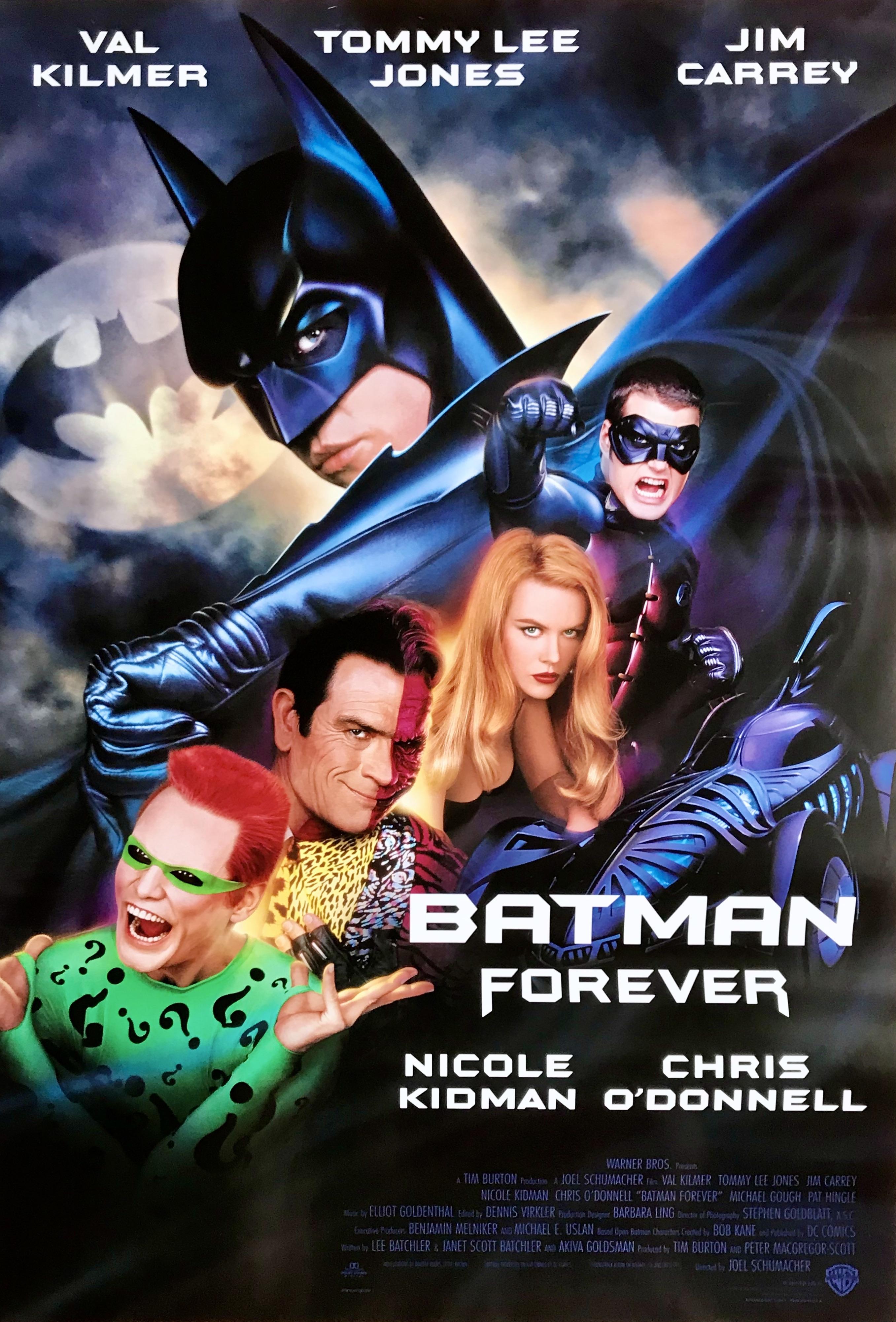 Nostalgipalatset Batman Forever 1995