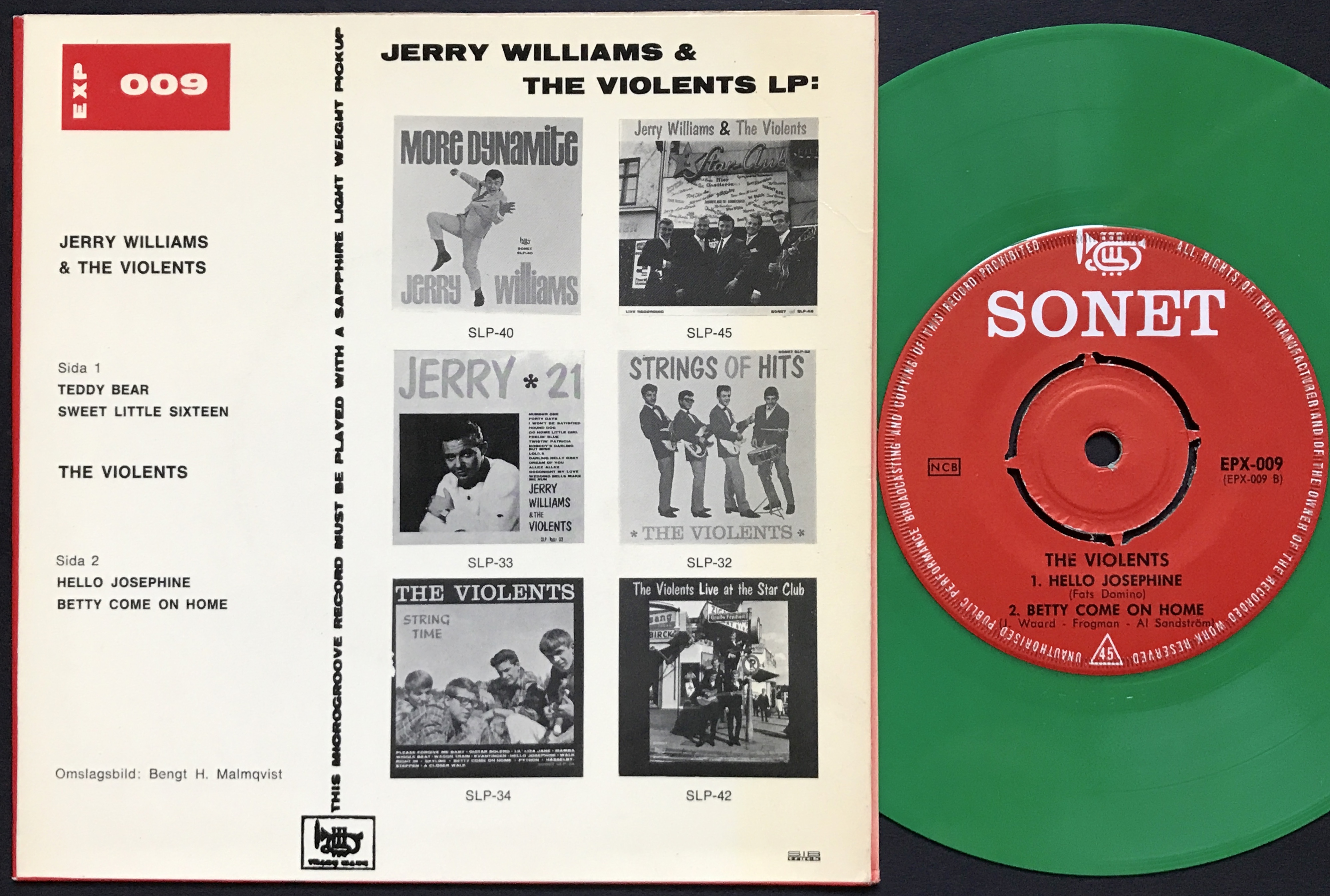 Nostalgipalatset Jerry Williams Amp Violents Teddy Bear
