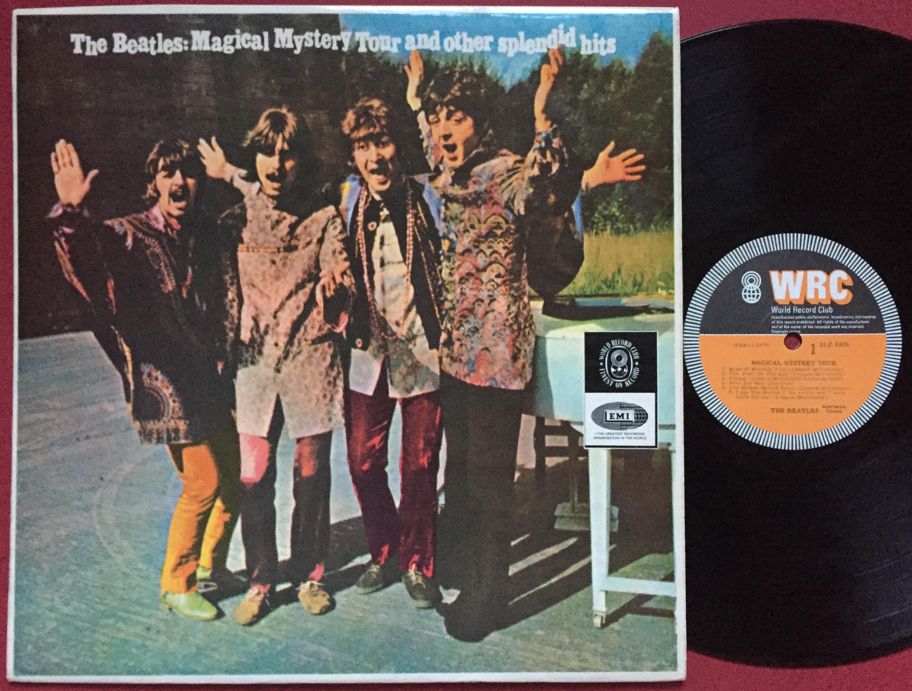 Nostalgipalatset Beatles Magical Mystery Tour New