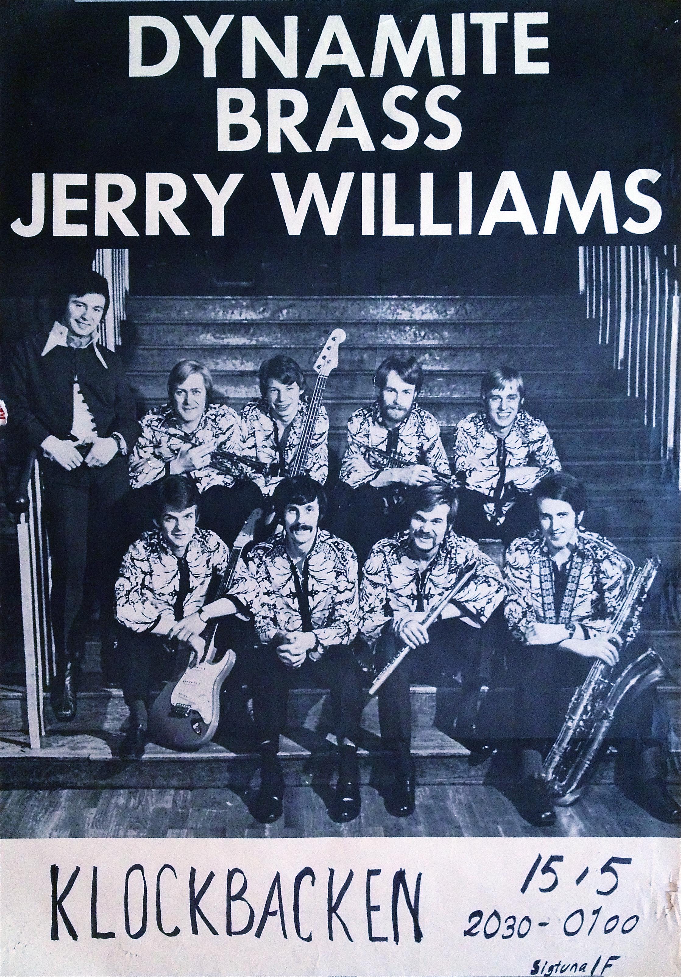 Nostalgipalatset Jerry Williams Amp Dynamite Brass 1969