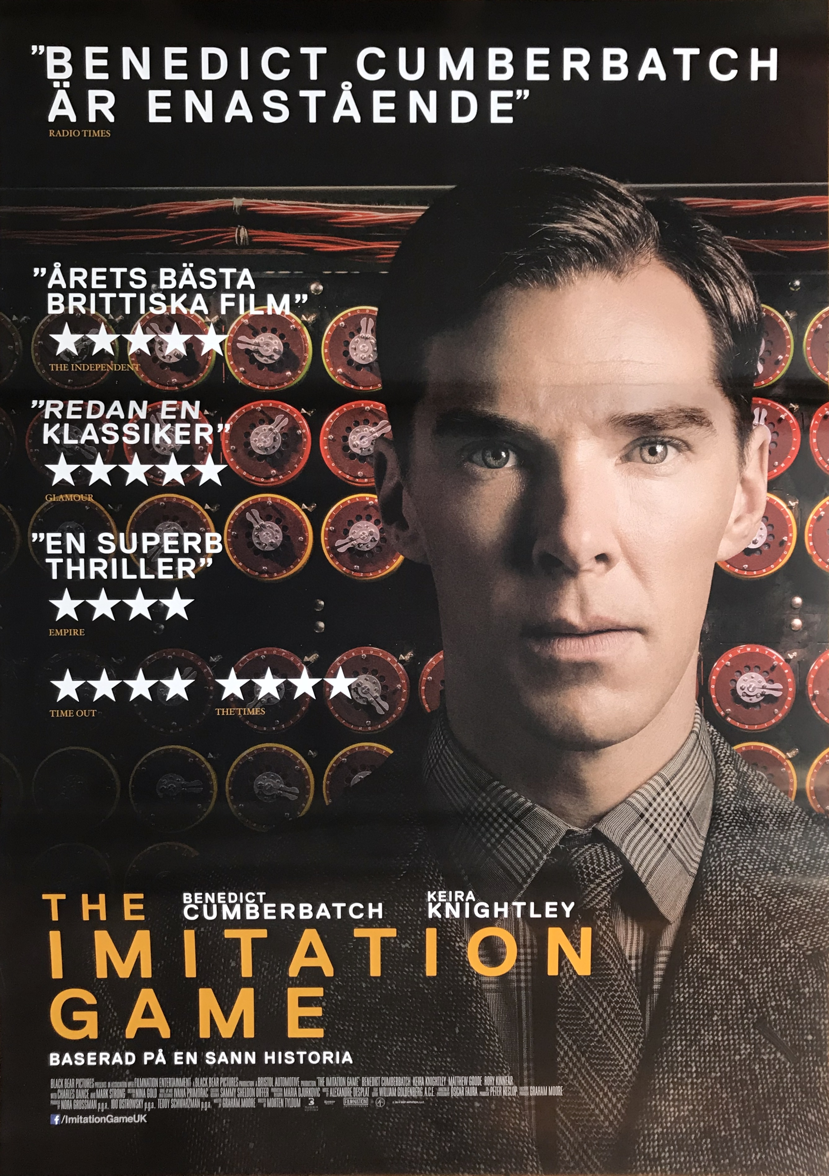 Nostalgipalatset The Imitation Game 2014