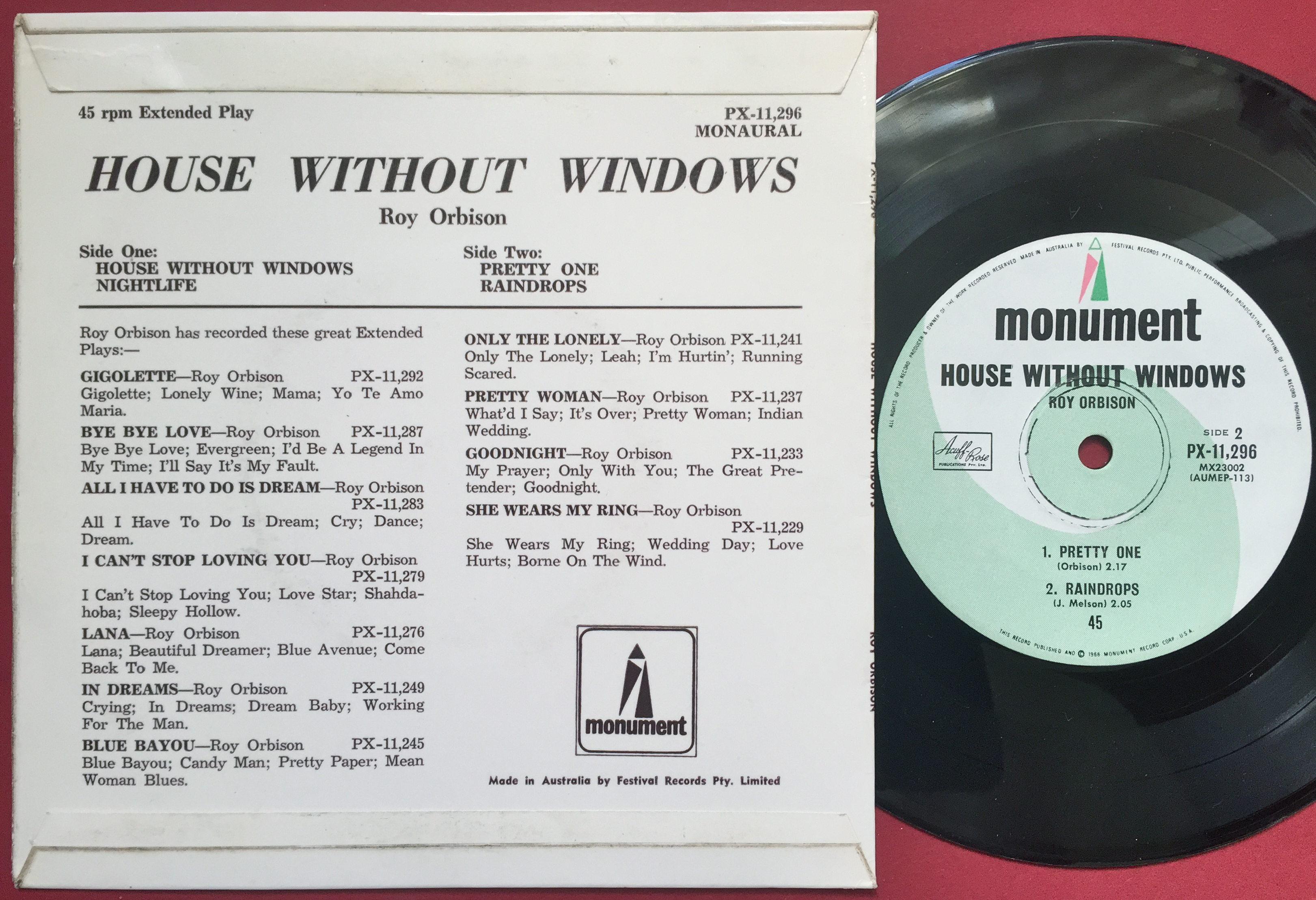 window rock latin singles The stereo singles project, part 1  the majors generally ignored rock and  hallelujah, i love him so/i'm lookin' out the window s4192 - ronnie and roy .