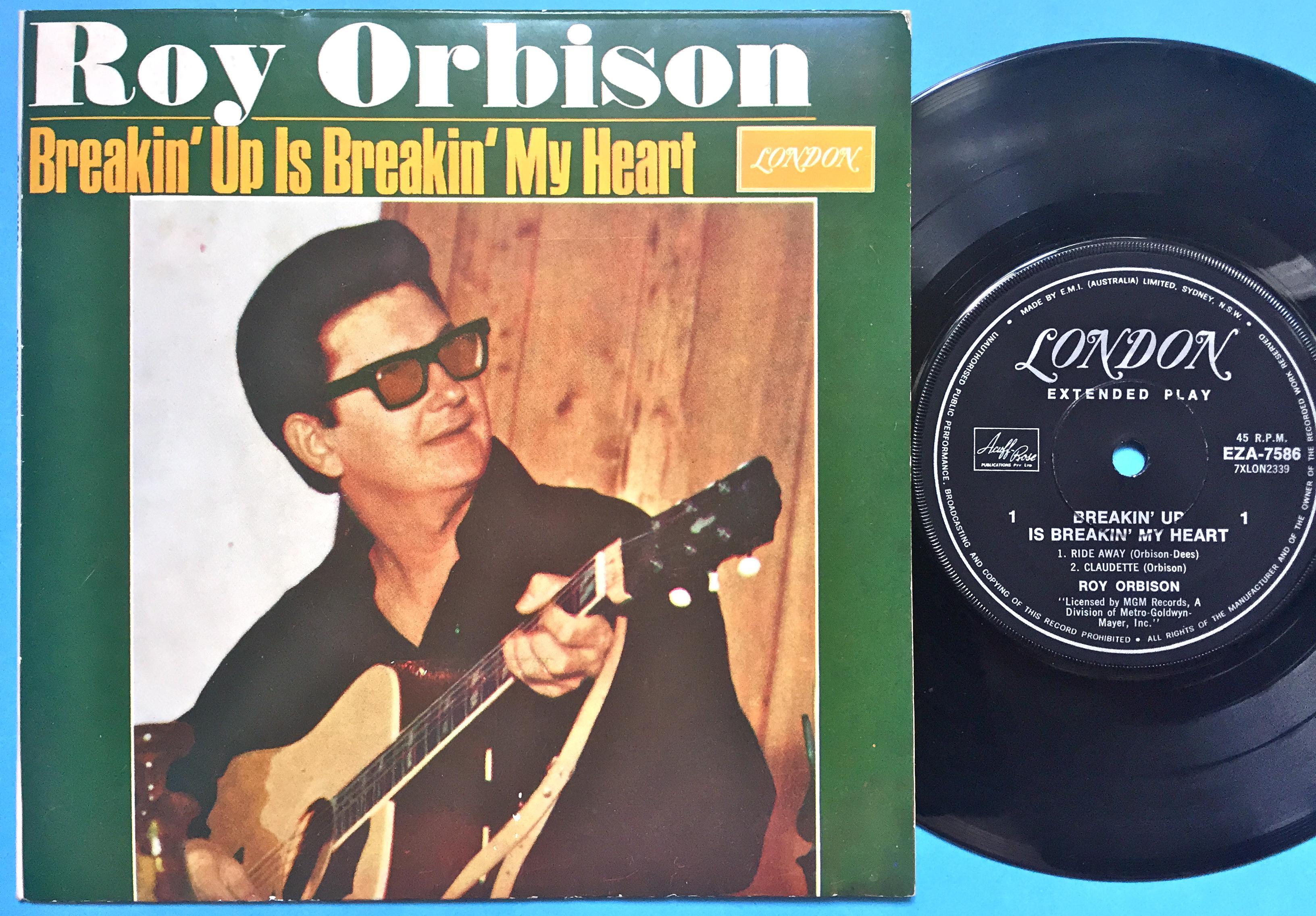 Nostalgipalatset Roy Orbison Breakin 180 Up Is Breakin