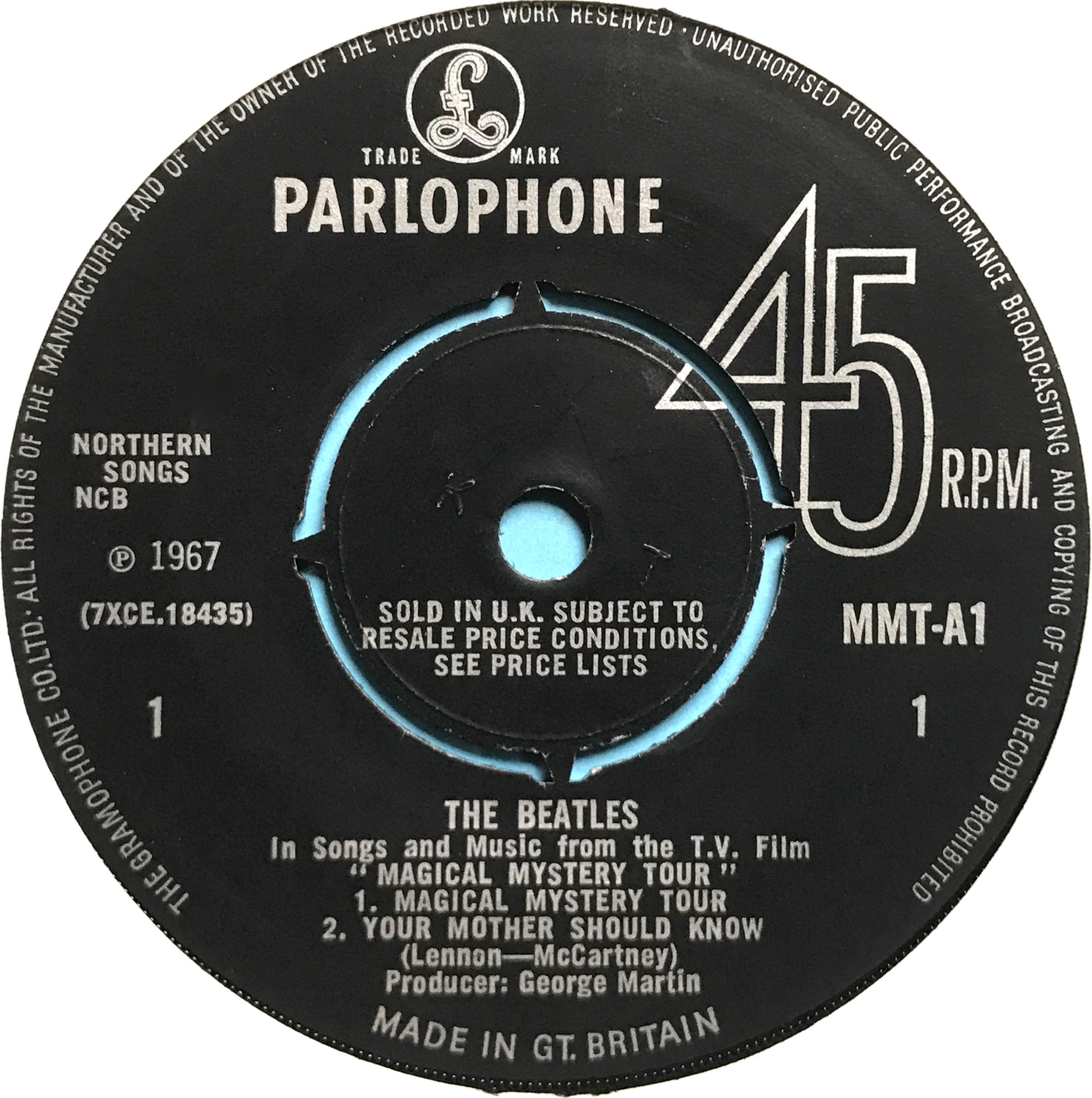 Nostalgipalatset Beatles Magical Mystery Tour Uk Mono