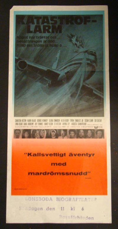Nostalgipalatset - AIRPORT 1975 (CHARLTON HESTON, KAREN ...