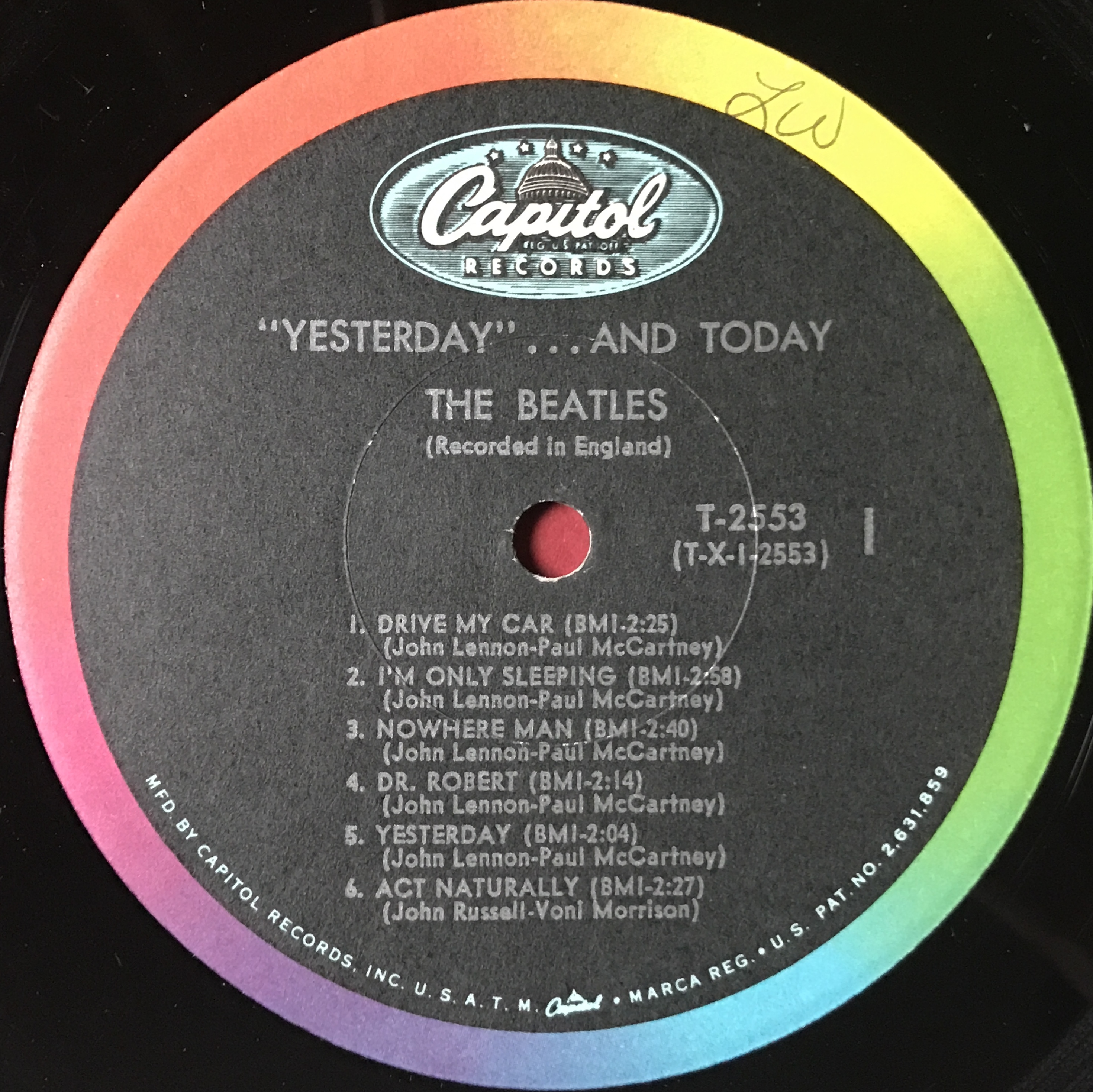 nostalgipalatset beatles yesterday and today butcher cover lp. Black Bedroom Furniture Sets. Home Design Ideas