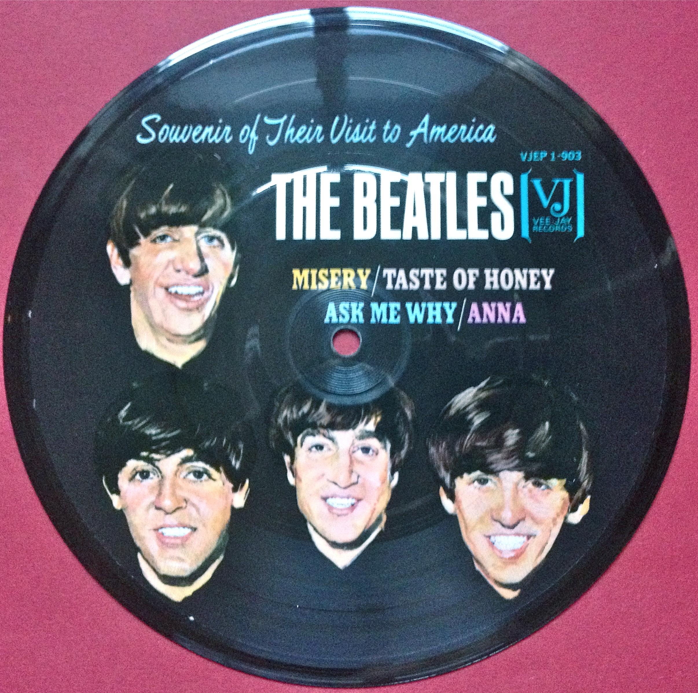 Beatles Souvenir Of Their Visit To America