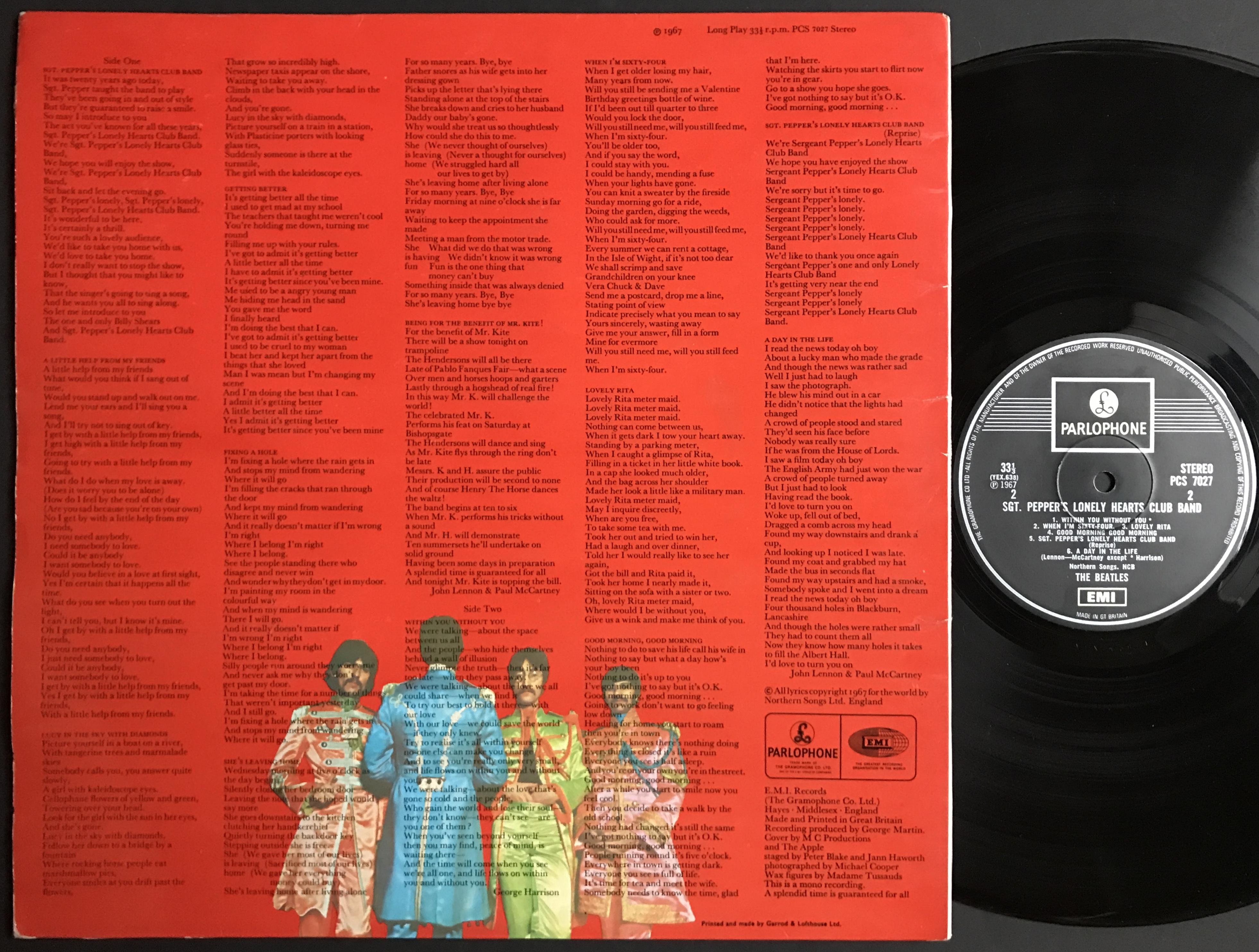 Nostalgipalatset Beatles Sgt Peppers Mono Stereo