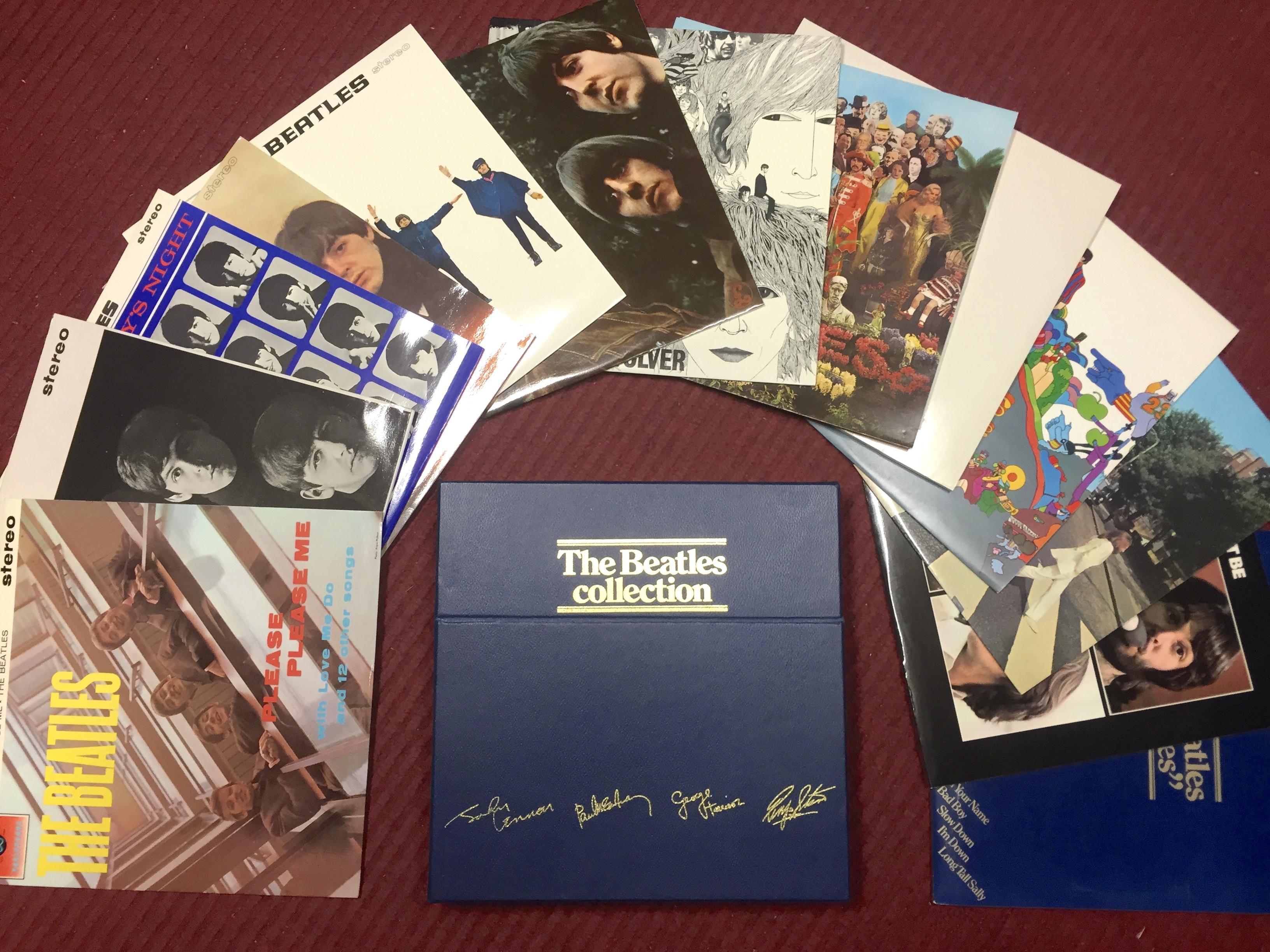 Nostalgipalatset Beatles Collection 14 Lp Svensk Box