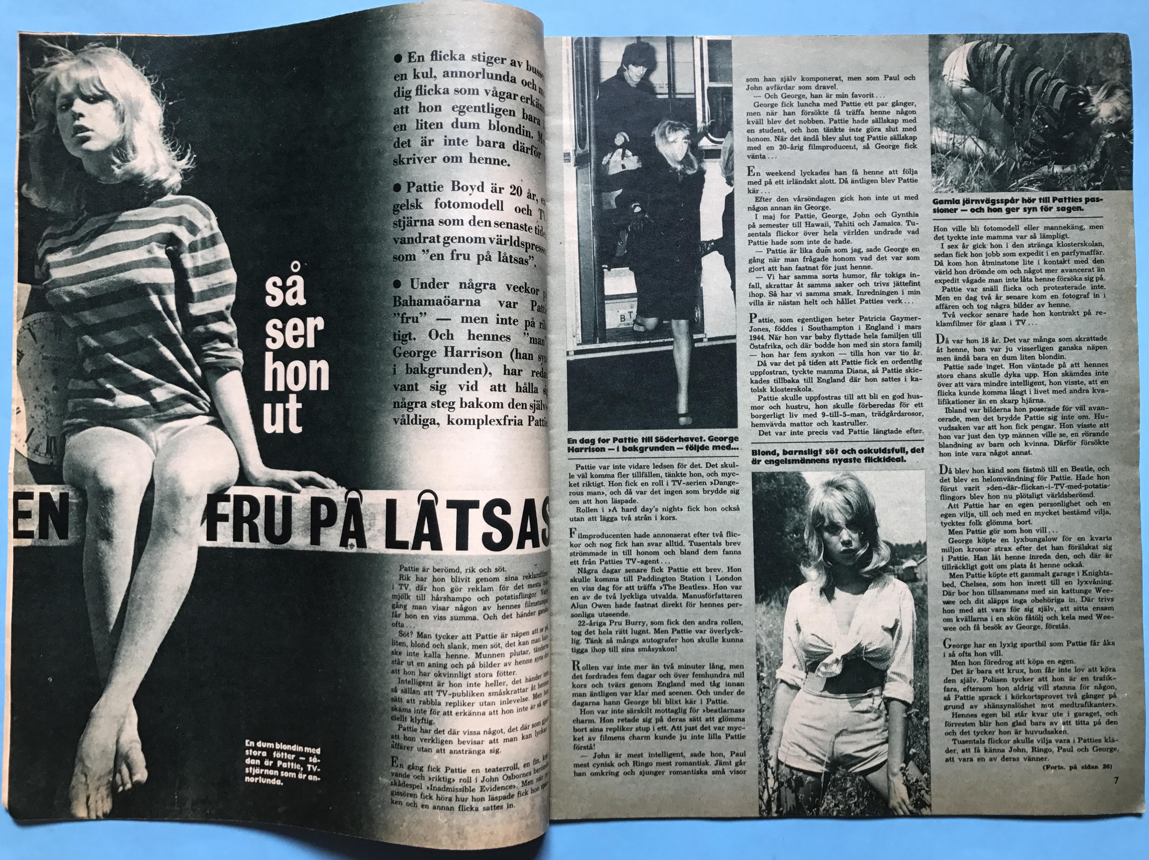 Nostalgipalatset Bildjournalen No 4 1965 Tages Cover