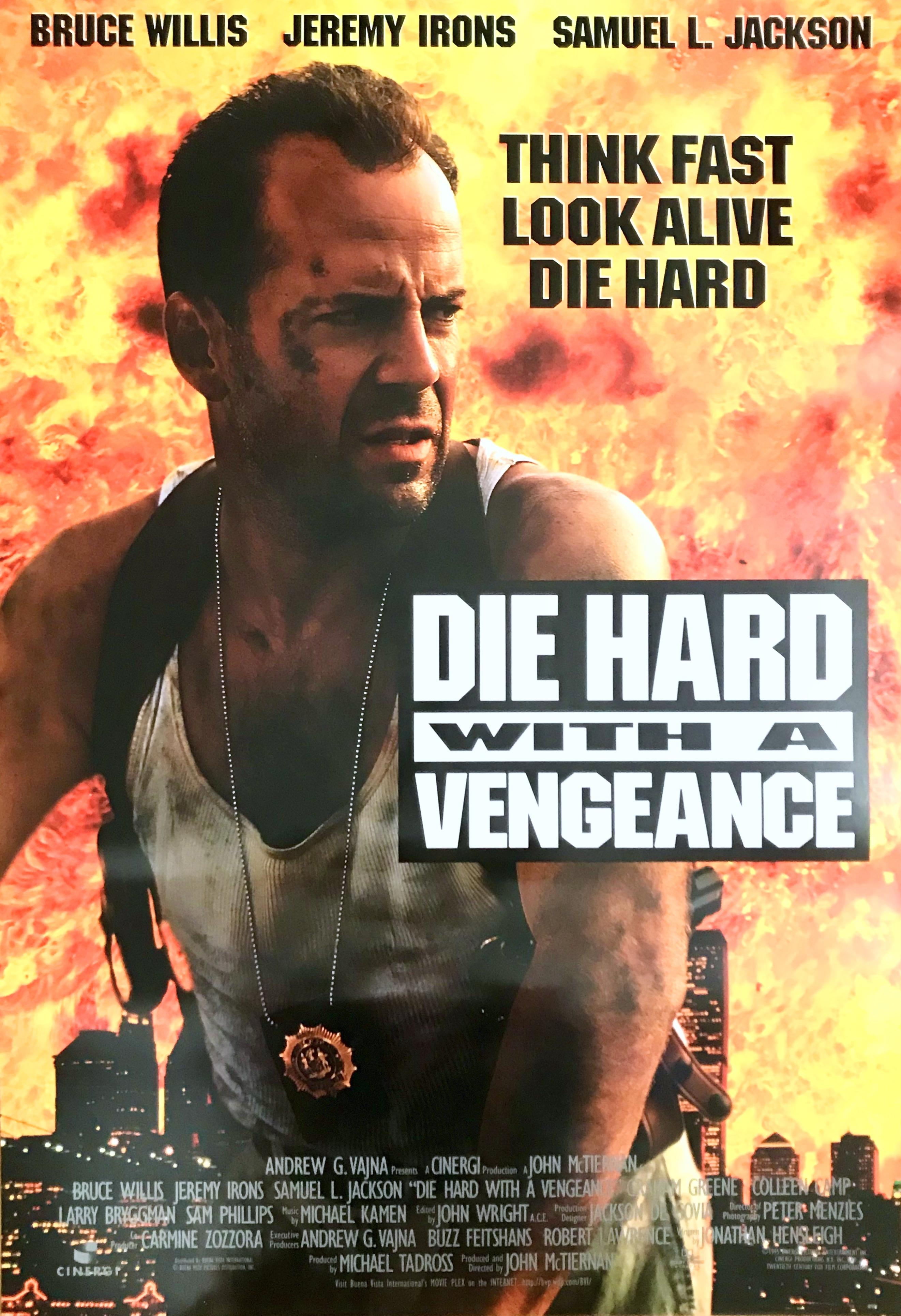 Nostalgipalatset Die Hard With A Vengeance 1995 Bruce