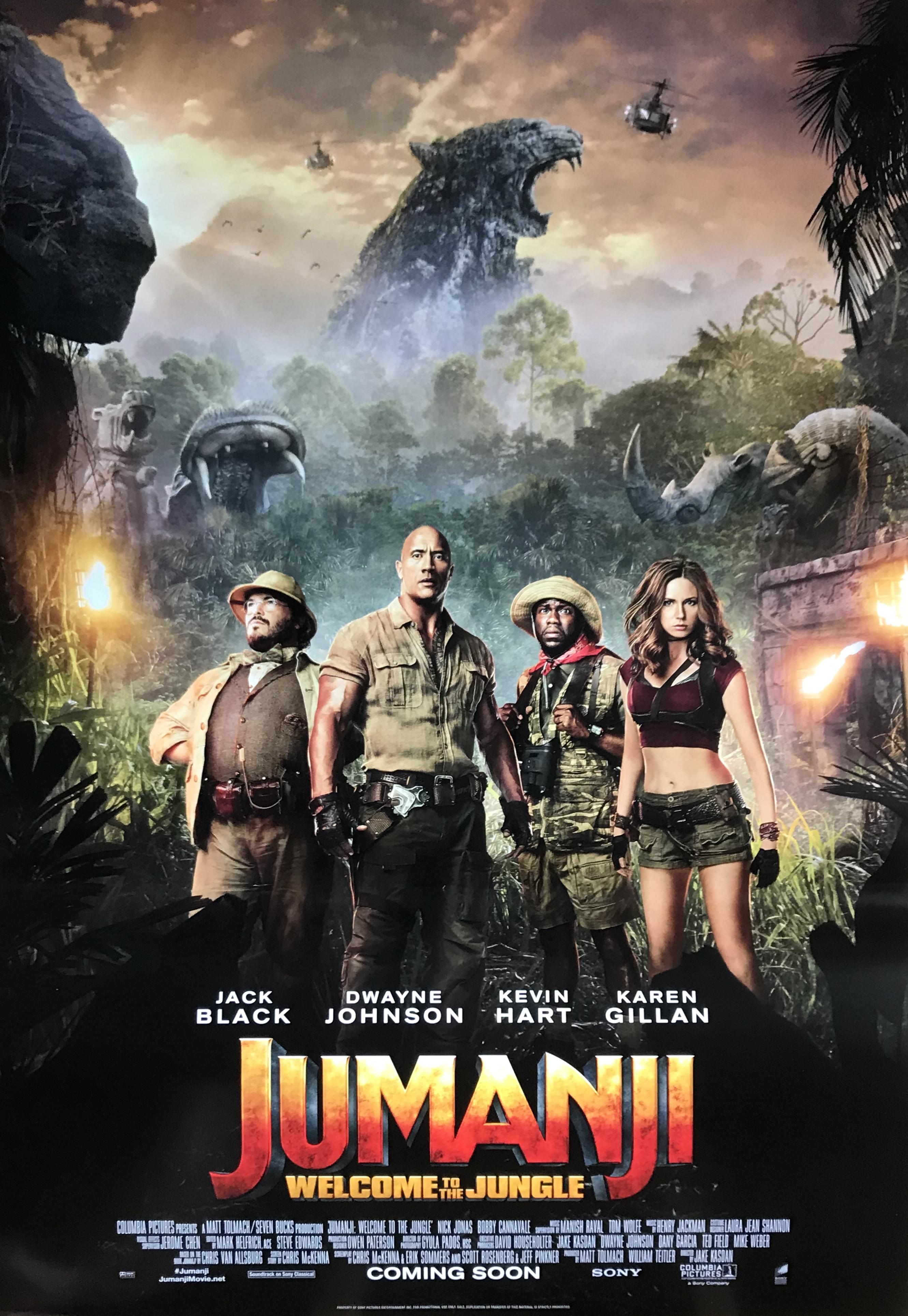 Nostalgipalatset Jumanji Welcome To The Jungle 2017 Advance