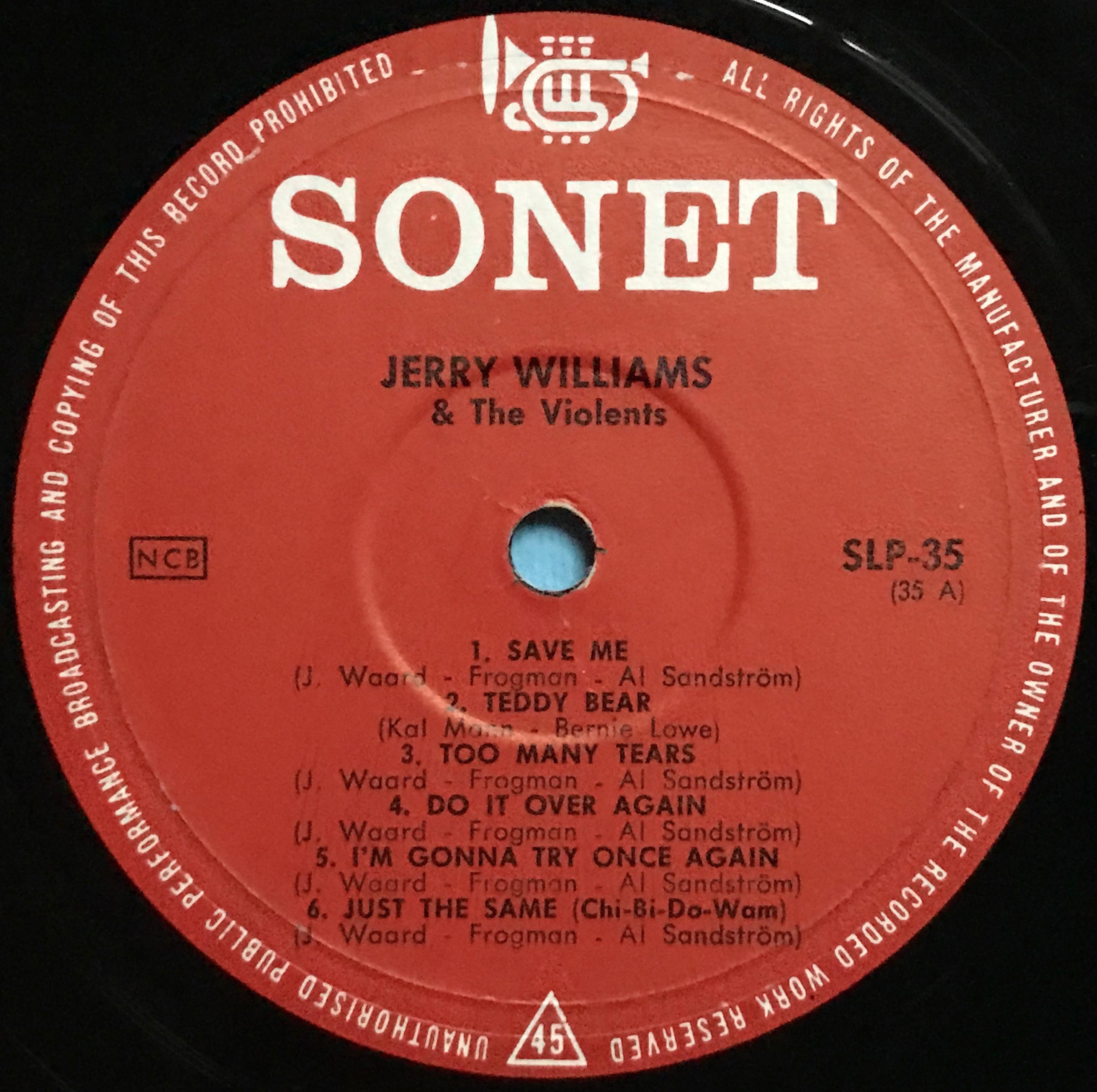 Nostalgipalatset Jerry Williams Mr Dynamite Swe Orig