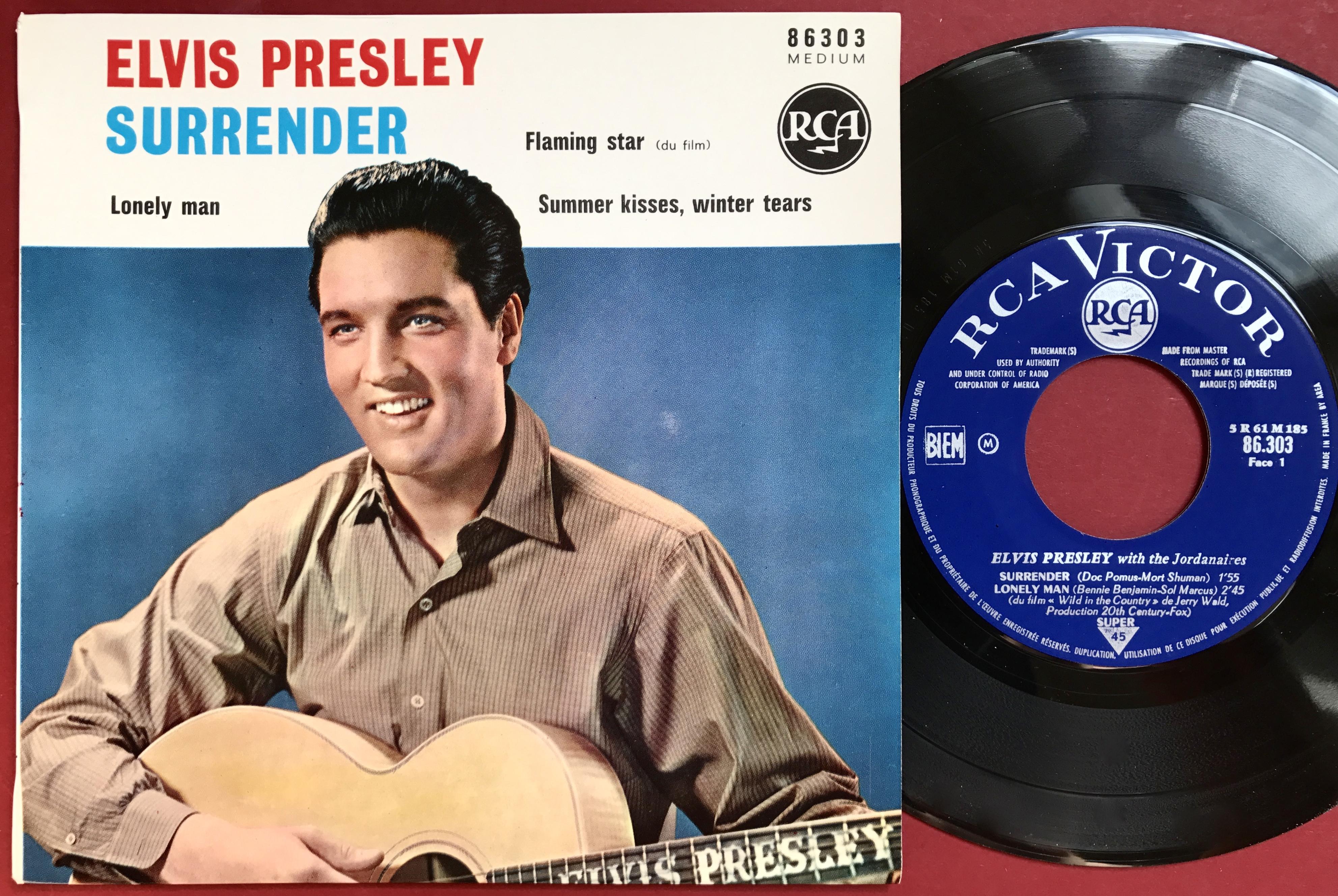 Nostalgipalatset Elvis Presley Surrender 3 French Ep