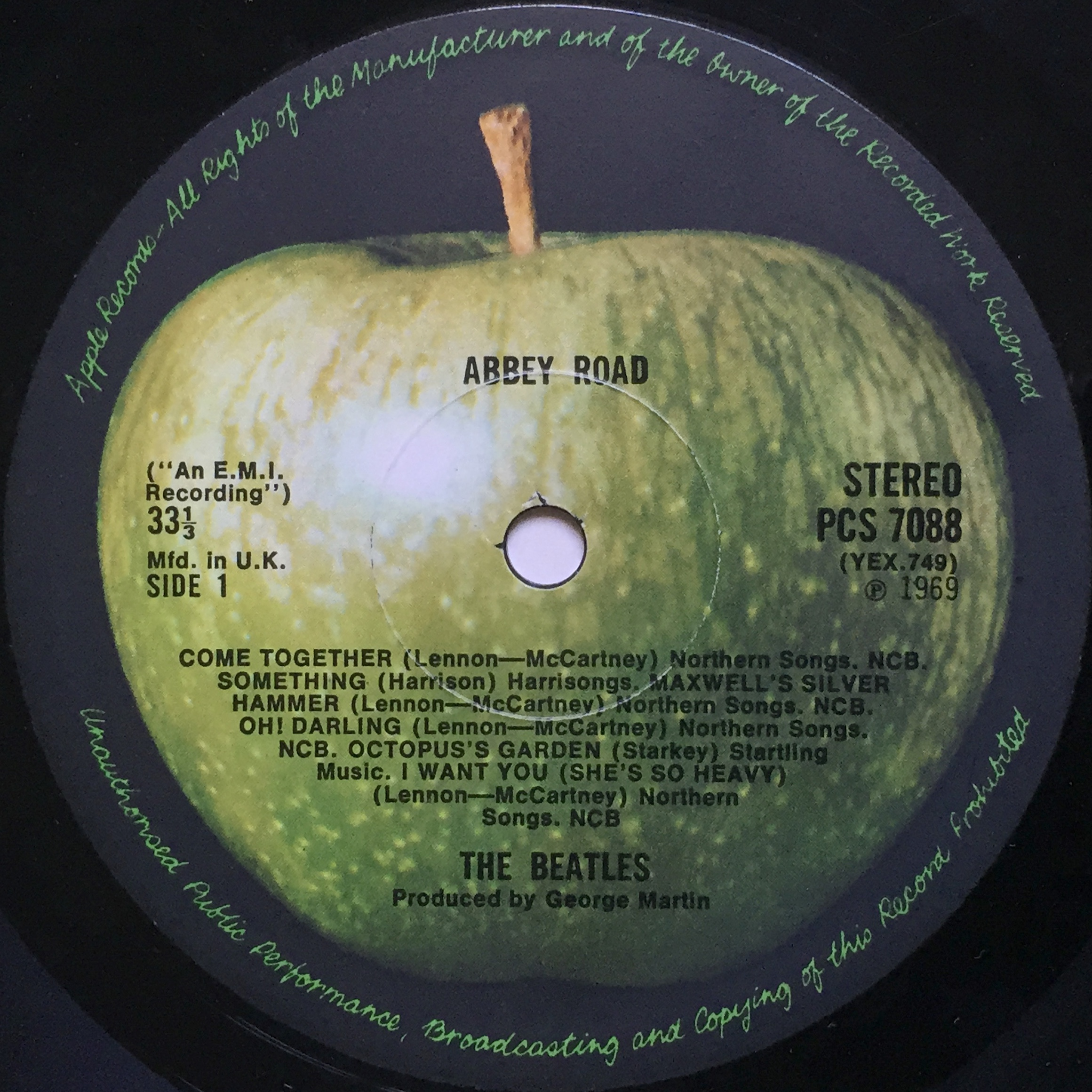 Nostalgipalatset Beatles Abbey Road Quot Misaligned Quot Apple