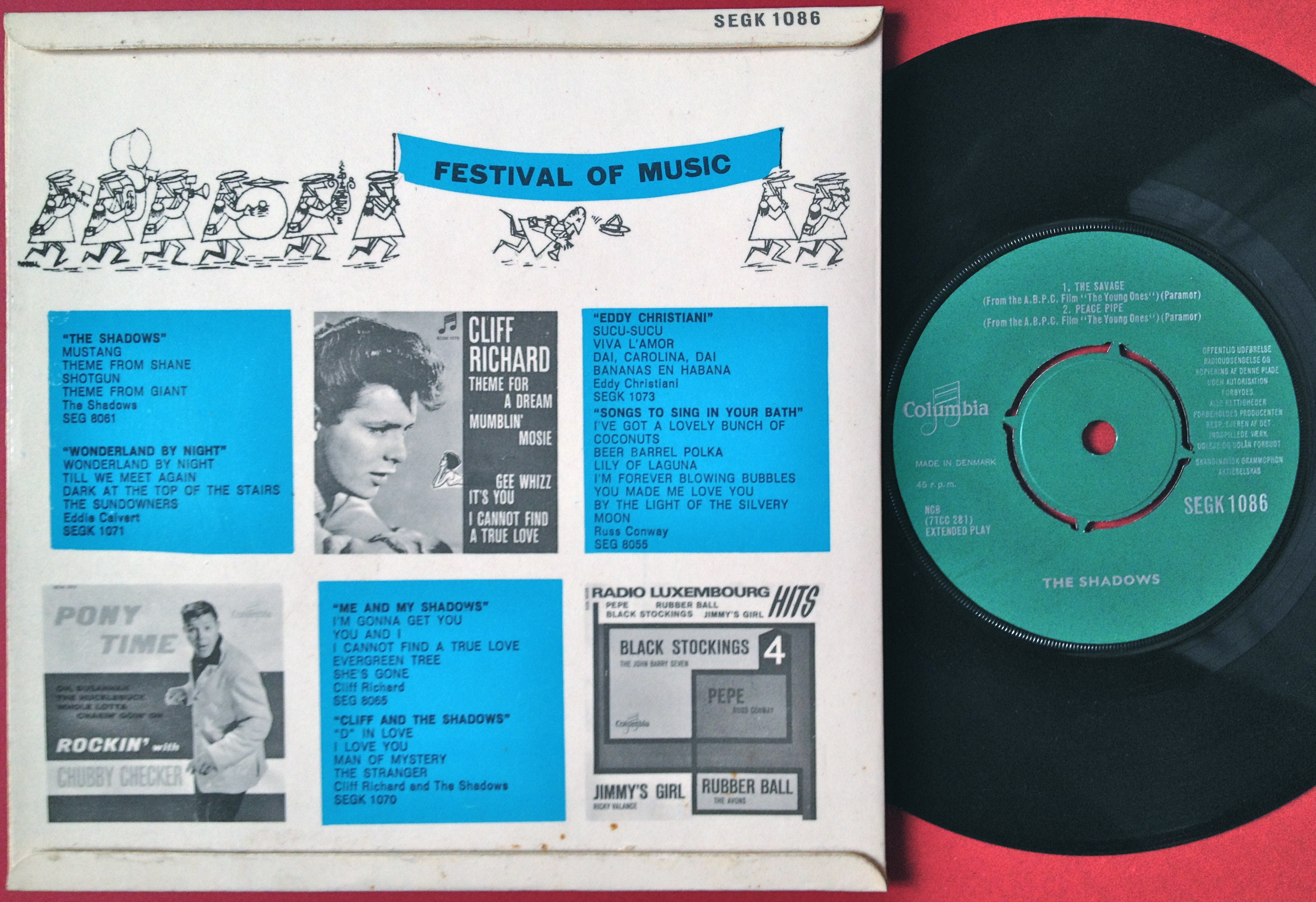 cliff latin singles Features song lyrics for cliff richard's cliff richard: the singles collection album includes album cover, release year, and user reviews.
