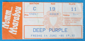DEEP PURPLE - Stockholm 1985 - 1st night