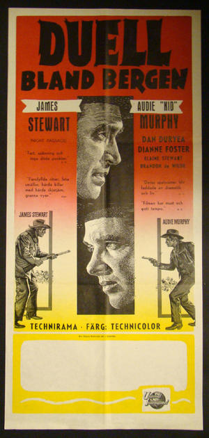 NIGHT PASSAGE (JAMES STEWART, AUDIE MURPHY)
