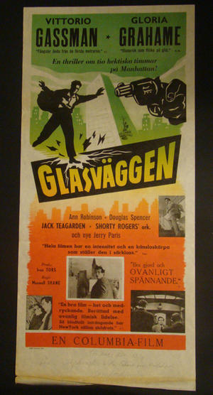 GLASVÄGGEN (VITTORIO GASSMAN, GLORIA GRAHAME)