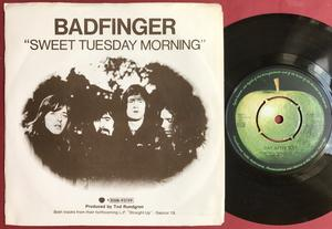 """BADFINGER - Day after day 7"""" Swe PS 1972"""