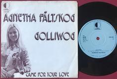 AGNETHA FÄLTSKOG - Golliwog Swe PS 1975
