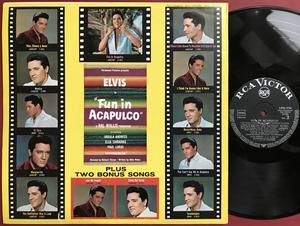 ELVIS PRESLEY - Fun in Acapulco Tysk LP 1963