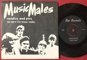 MUSIC MALES - Needles and pins Swe PS 1967