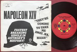 NAPOLEON XIV - They´re coming to take.. Swe PS 1966