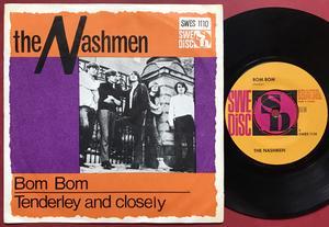 NASHMEN - Bom bom Swe PS 1966