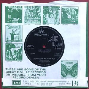 ONYX ‎– The Next Stop Is Mine UK 45 1971