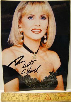 Ekland, Britt Autograf