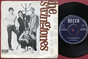 STRINGTONES ‎– Don't Run And Hide Swe PS 1966