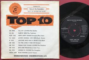 GERRY & THE PACEMAKERS - Jambalaya Swe PS 1963