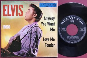 ELVIS PRESLEY - Anyway you want me Ger 1960´s PS