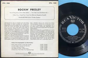 ELVIS PRESLEY - Rockin´ Presley Tysk EP 1956