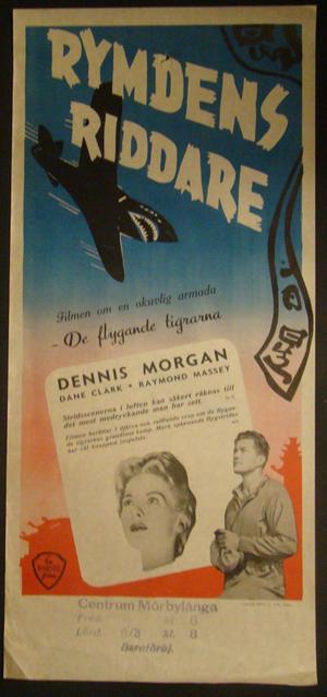 RYMDENS RIDDARE (DENNIS MORGAN, DANE CLARK, RAYMOND MASSEY)