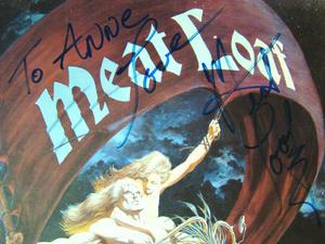 MEATLOAF Dead ringer - Signerad LP PROMO!