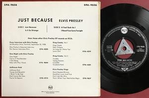 ELVIS PRESLEY - Just because +3 Tysk EP Silvertri 1959