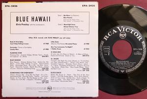 ELVIS PRESLEY - Blue Hawaii - Tysk EP 1961