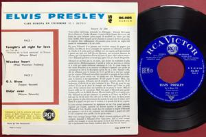ELVIS PRESLEY - G.I. Blues + 3 French EP 1961