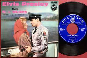 ELVIS PRESLEY - G.I. Blues + 3 Fransk EP 1961