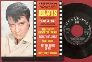 ELVIS PRESLEY - Tickle me - Tysk EP 1965