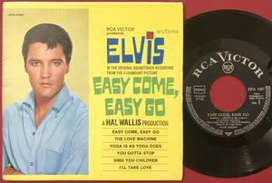 ELVIS PRESLEY - Easy come, easy go - German EP 1967