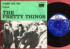 PRETTY THINGS - Come see me Swe PS 1966