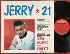 JERRY WILLIAMS - Jerry 21 - Swe-orig LP 1963