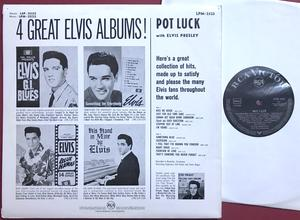 ELVIS PRESLEY - Pot luck Tysk LP 1962