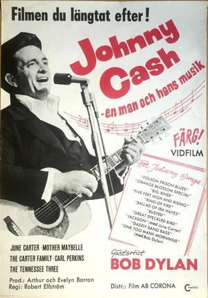 JOHNNY CASH - EN MAN & HANS MUSIK (1970)