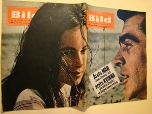 BILDJOURNALEN no 18 1965 Sean Connery/ Geraldine Chaplin